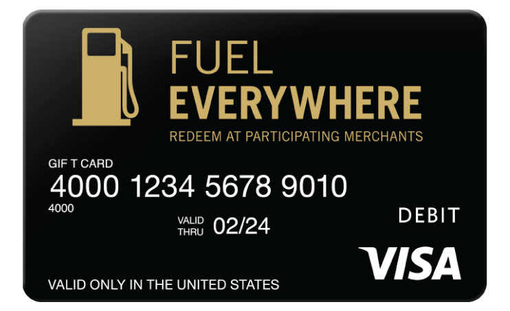 Visa fuel card